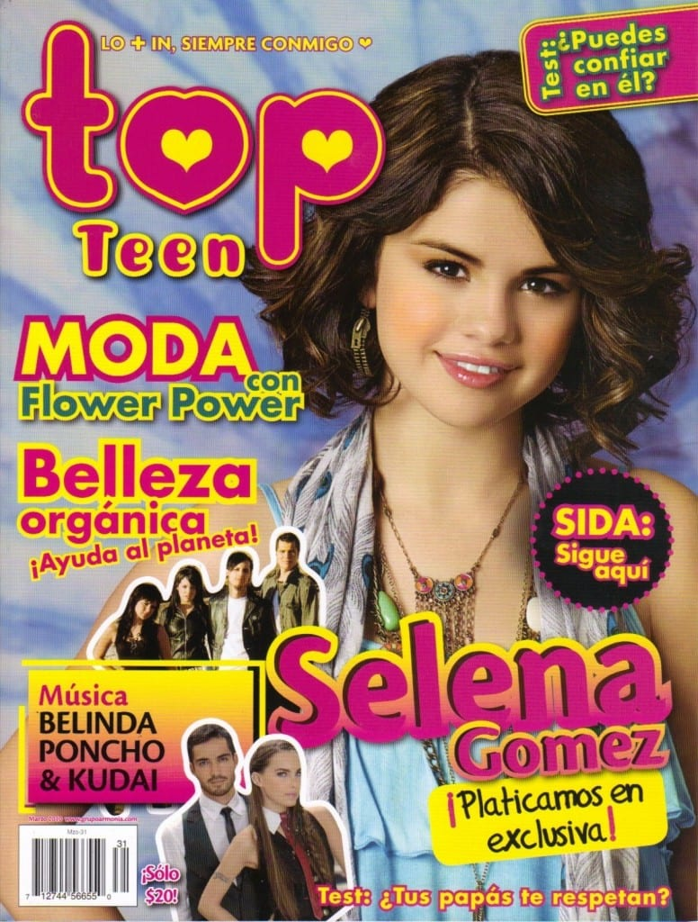 Selena Gomez Gets Top Teen Magazine Cover