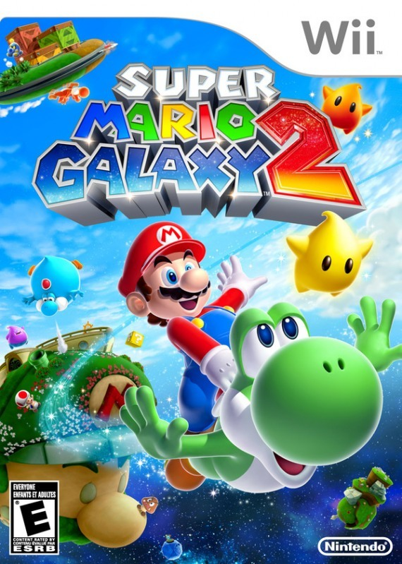 super mario galaxy 2 for wii review