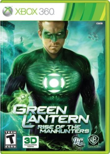 Green Lantern Rise of the Manhunters xbox review