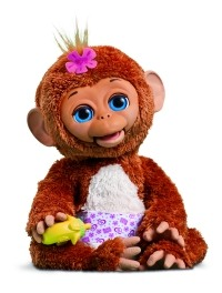 FurReal Friends Cuddles, My Giggle Monkey Pet 200