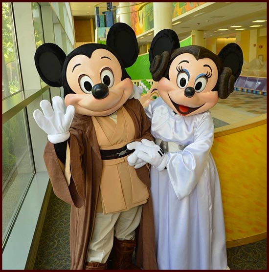"Disney Stars Celebrate ""May The Fourth Be With You"" Day At"