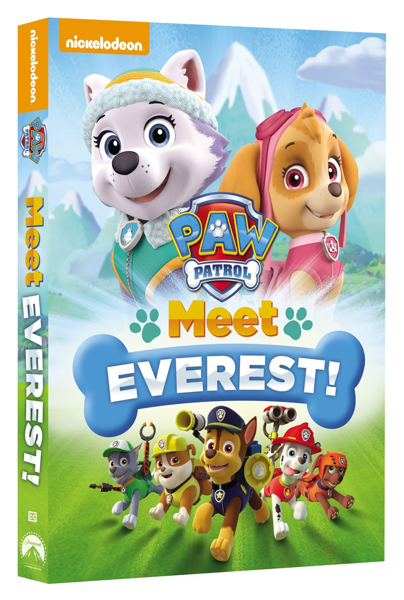paw patrol meet everest available on dvd 90115  bsckids