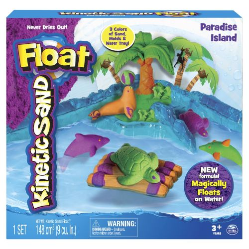 Floating Kinetic Sand Paradise Island