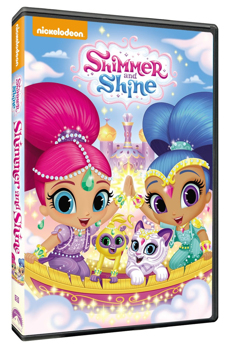Shimmer and Shine' Debut on DVD February 2, 2016!