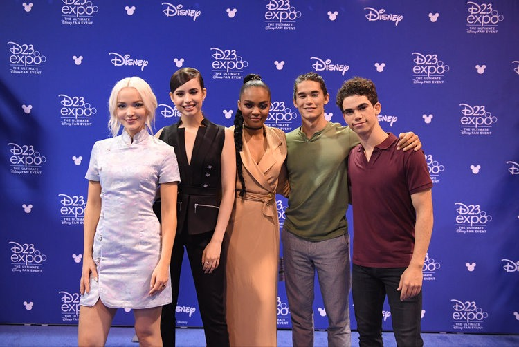Dove cameron sofia carson and more descendants 2 stars meet fans d23 expo 2017 friday july 14 2017 the ultimate disney fan event brings together all the worlds of disney under one roof for three packed days of m4hsunfo