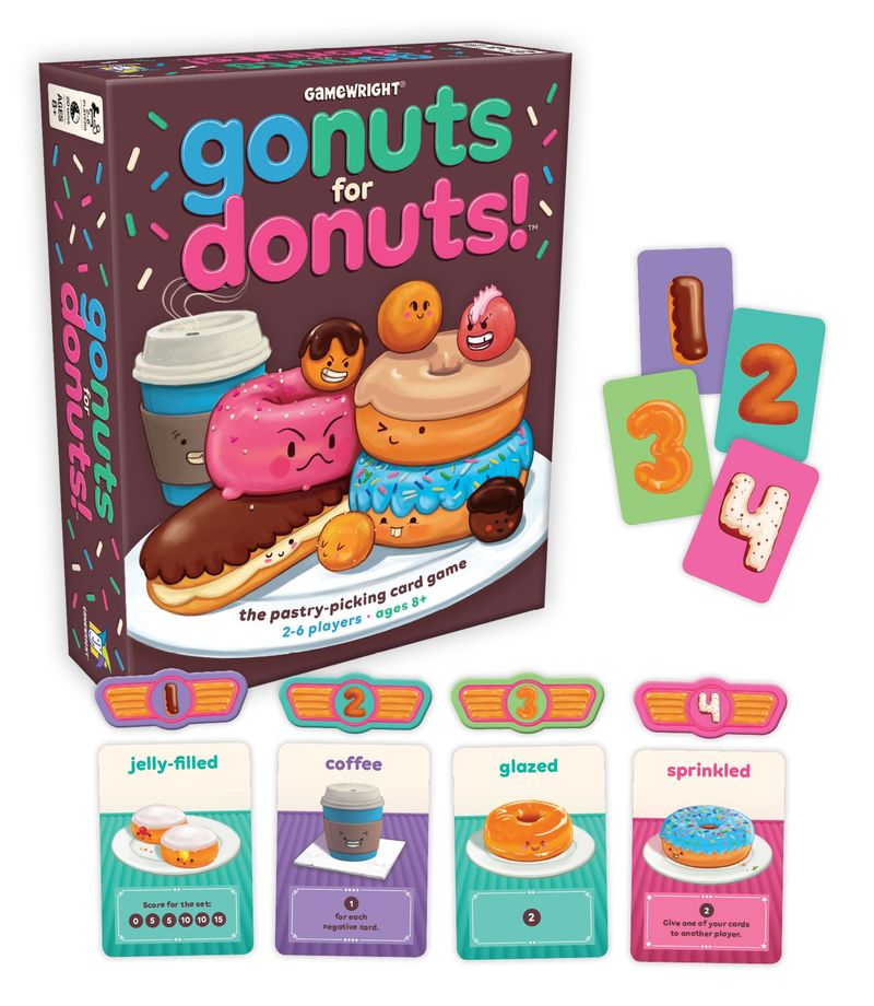 GAMEWRIGHT- Go Nuts For Doughnuts