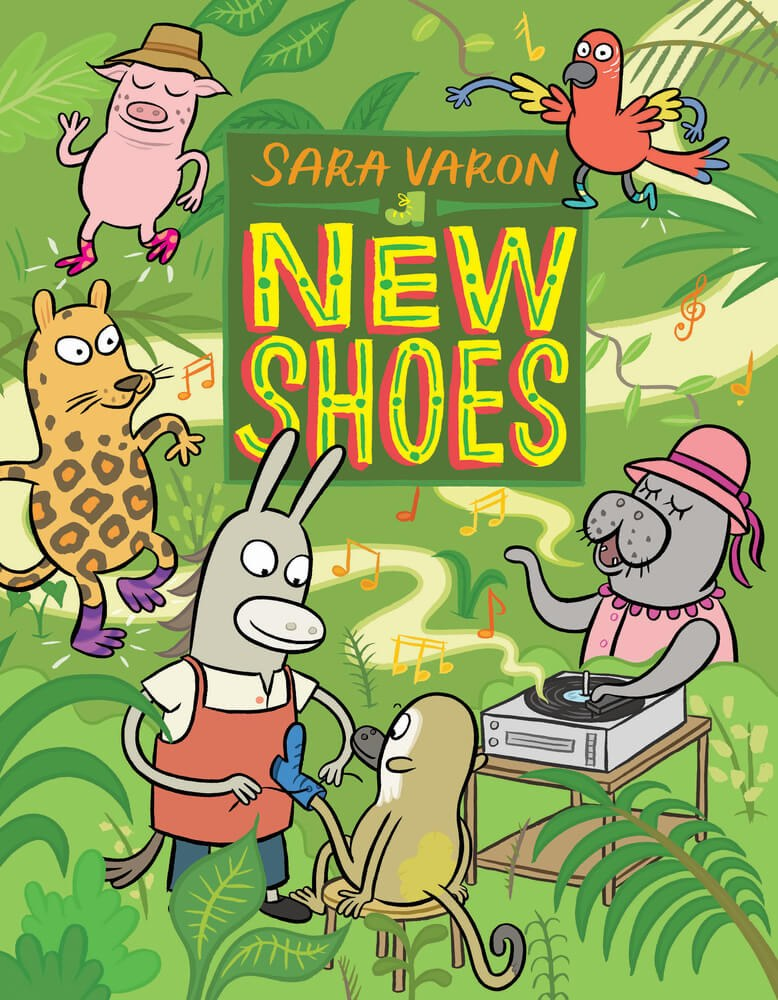 New Shoes Sara Varon