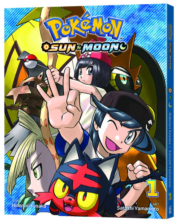NEW POKÉMON MANGA SERIES POKÉMON SUN & MOON