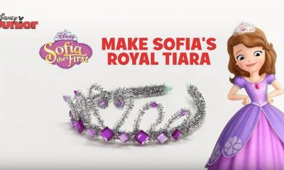 Sofia The First - DIY