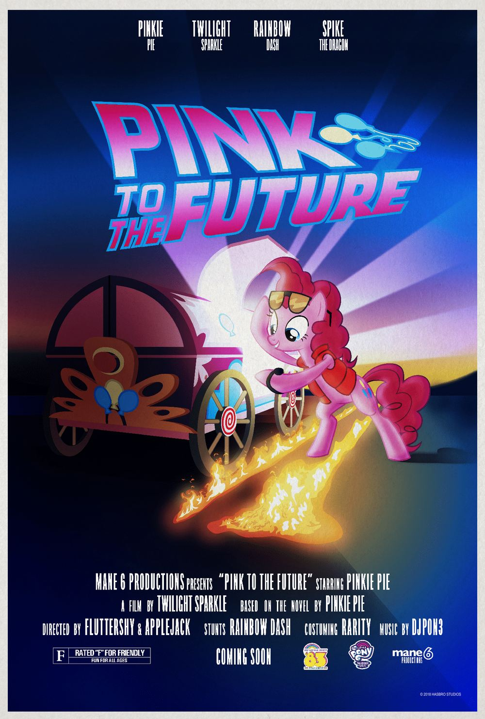 My Little Pony Back To The Future