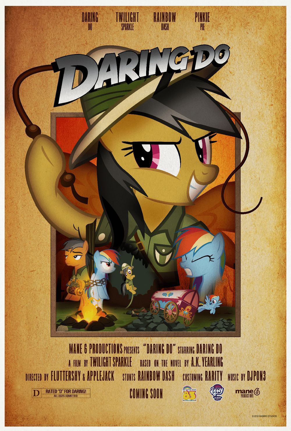 My Little Pony Indiana Jones