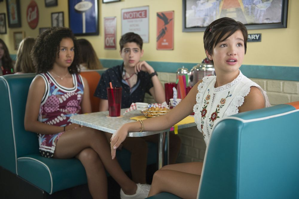 Andi Mack The Boys Are Back With Joshua Rush And Asher