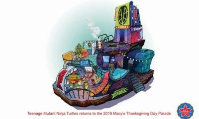 TMNT Macys Thanksgiving Parade Float