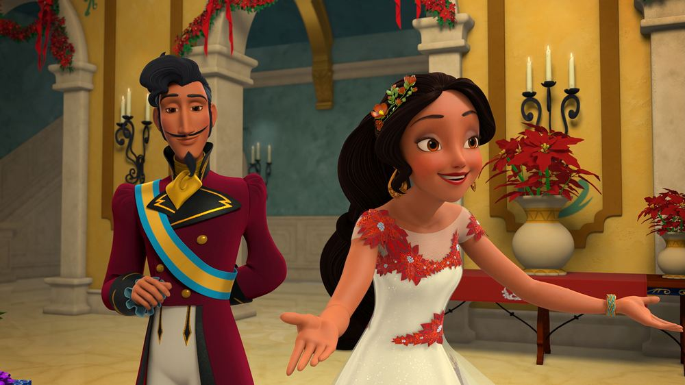 "ELENA OF AVALOR - ""Snow Place Like Home"""