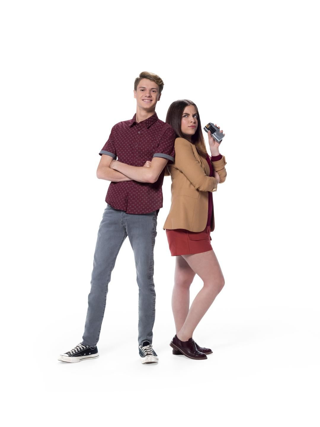 Jace Norman and Ariel Martin In Bixler High Private Eye