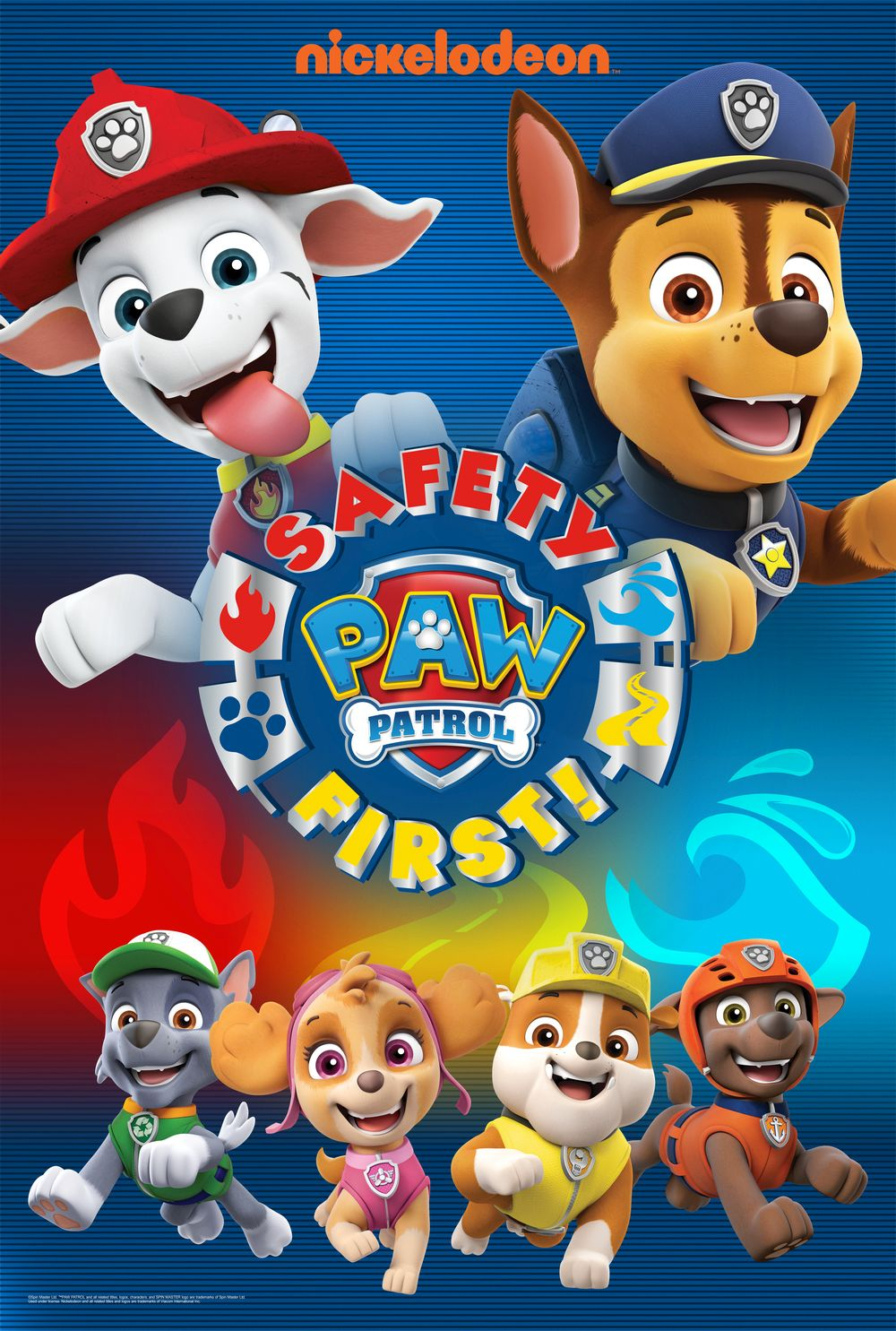 Paw Patrol Safety First
